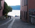 Strasse in Ascona, Tessin
