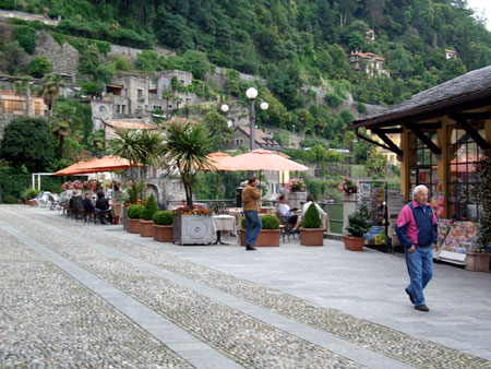 Uferpromenade in Cannero