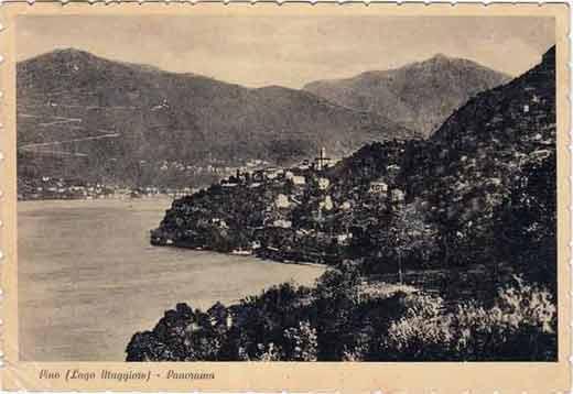 Pino - alte Postkarte