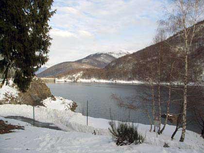 Lago Delio Winter