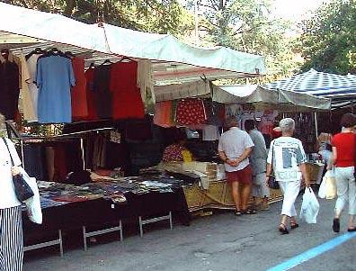 Markt in Luino, Lago Maggiore