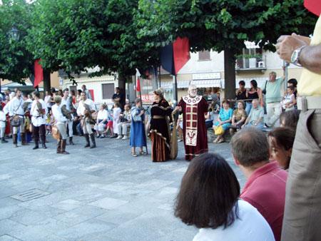 Fest in Maccagno am Lago Maggiore