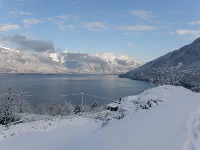 Schnee Lago Maggiore