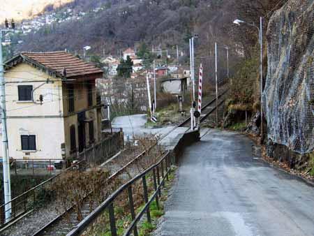 Strasse nach Tronzano