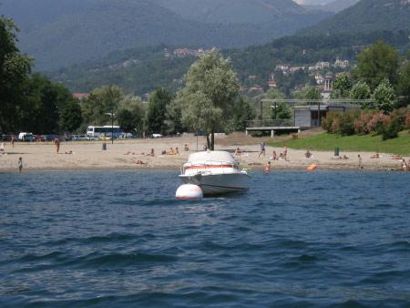 Strände Lago Maggiore