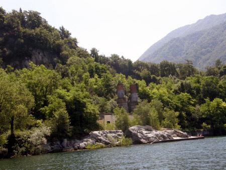 Strand Castelveccana Lago Maggiore