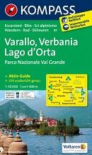 Kompass Karten - Varallo - Verbania - Lago d Orta