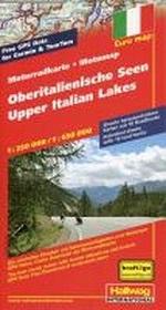 Motorradkarte Oberitalienische Seen