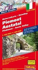 Motorradkarte Piemont