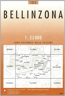 Bellinzona -  Swisstopo Karte