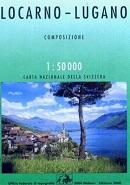 Locarno Lugano -  Swisstopo Karte