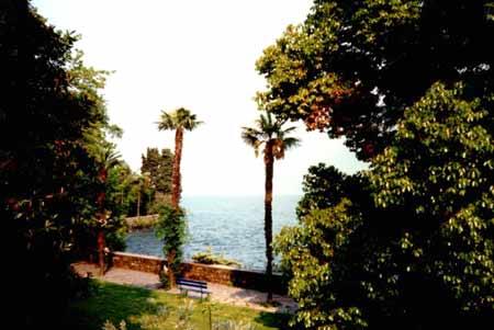 Park auf den Brissago Inseln