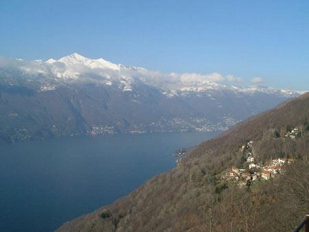Blick von Campagnano auf Brissago