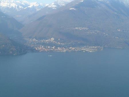Ausblick von Campagnano auf Canobbio