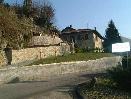 Die Straße von Caviggia