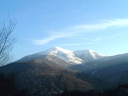 Die Berge am Forcorapass