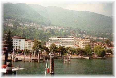 Lago Maggiore Locarno  - Hafen von Locarno im Schweizer Tessin