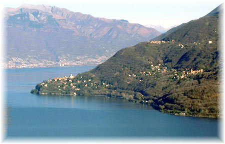 Pino Lago Maggiore, Tronzano und Bassano