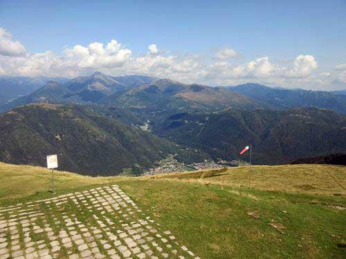 Ausblick Monte Tamaro