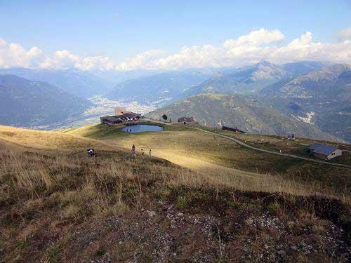 Aussicht Monte Tamaro