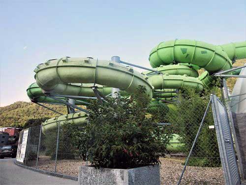 Wasserrutsche Erlebnisbad