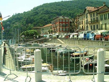 Der Alte Hafen in Cannobio