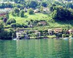 Landschaft Gambarogno vom Boot