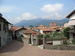 Germignaga Dorf