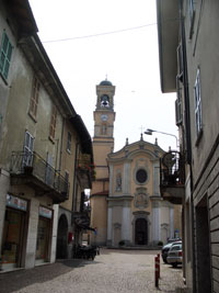 Kirche von Germignaga am Lago Maggiore