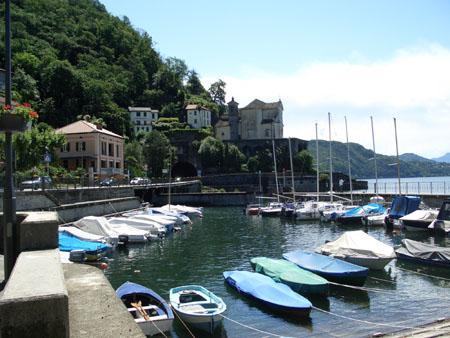 Der Hafen von Maccagno