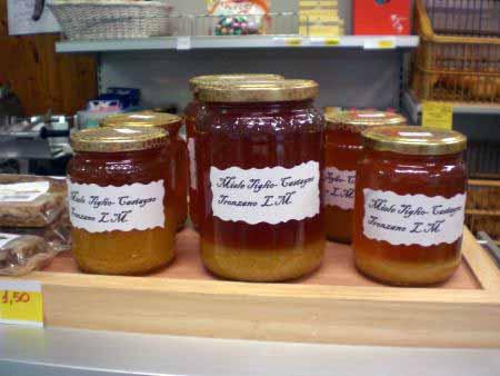 Honig aus Tronzano am Lago Maggiore