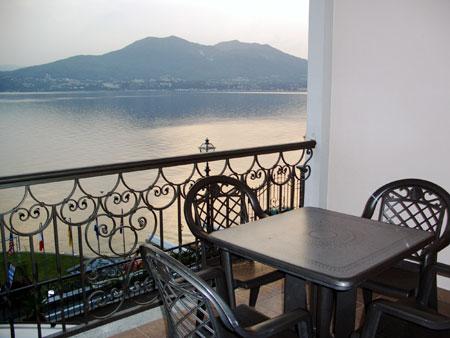 Ferienwohnungen am See, Blick vom Balkon